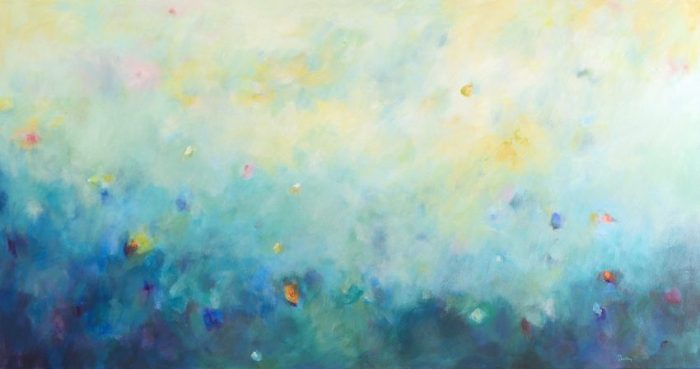 Light and Life, landscape, original artwork by Robyn Pedley