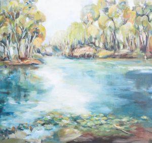 Overflow by artist Robyn Pedley @bobbiepgallery