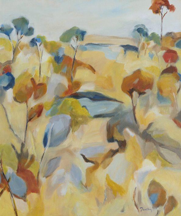 Ridge Colours by artist Robyn Pedley @bobbiepgallery