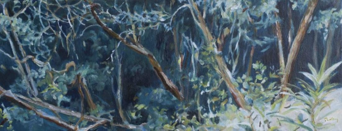 Somersby Blue by artist Robyn Pedley @bobbiepgallery