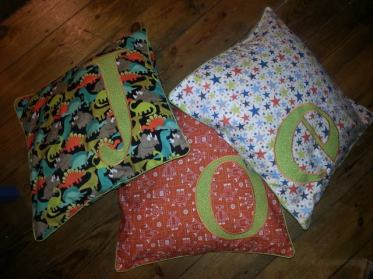 applique cushions bobbins and buttons