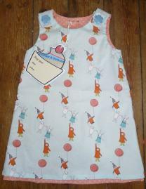 balloon dress bobbins and buttons