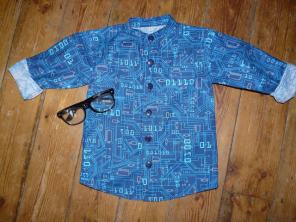 geek shirt Bobbins and buttons