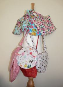 kids bags bobbins and buttons
