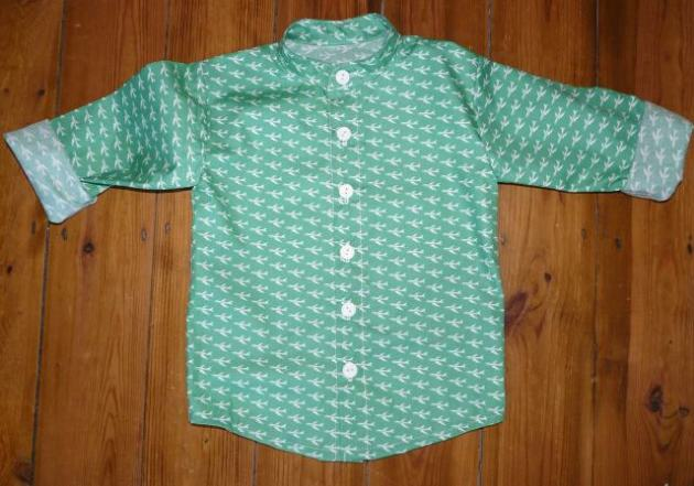 plane shirt bobbins and buttons