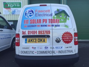 We provide livery and lettering for your business vehicles
