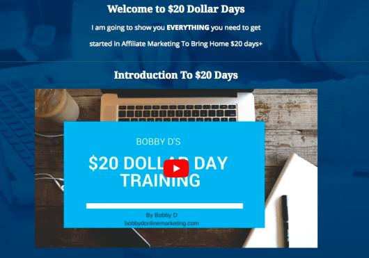 $20 Dollar Days