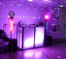 Neon UV Party DJ Hire Glasgow