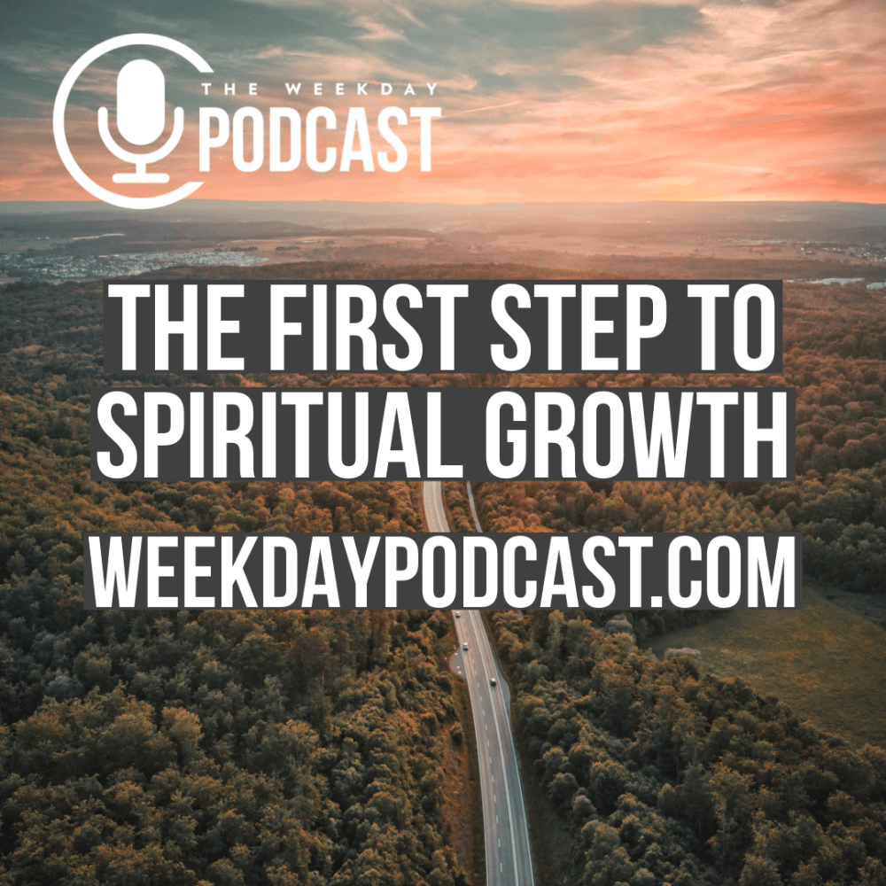 The First Step to Spiritual Growth Image