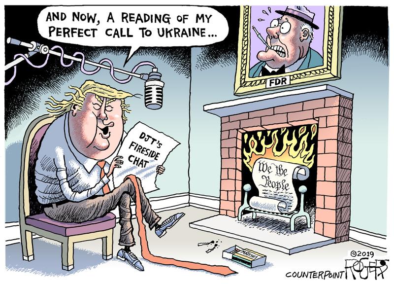 Donald Trump introduces his