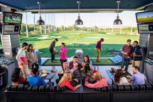 Social Experience Top Golf