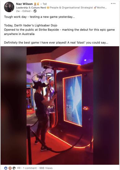 Star Wars Lightsaber Dojo - The Best Arcade Game Ever