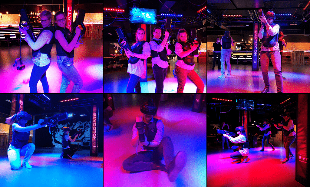 Players love the VIP experience in the VR Arcade Game Hologate Lounge