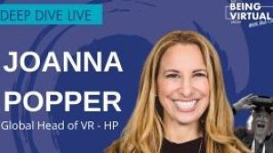 HP Location-based VR head Joanna Popper