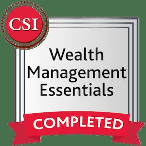 Wealth Management Essentials