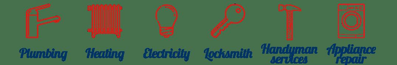 Plumbing - Heating - Electricity - locksmithery - Handyman