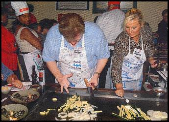 Bob Dutko - Wendy's Celebrity Chef with Producer Jan