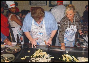 Bob Dutko - Wendy's Celebrity Chef with Producer Jan