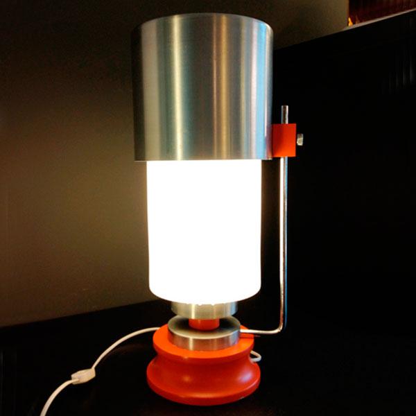 lampada anni 70 modernariato Bobeche vintage store