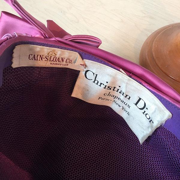 turbante Christian Dior vintage Bobeche