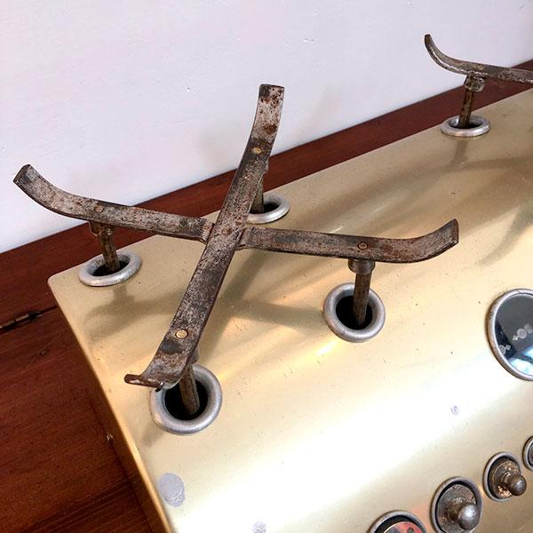 bilancia con pesi industriale vintage Bobeche