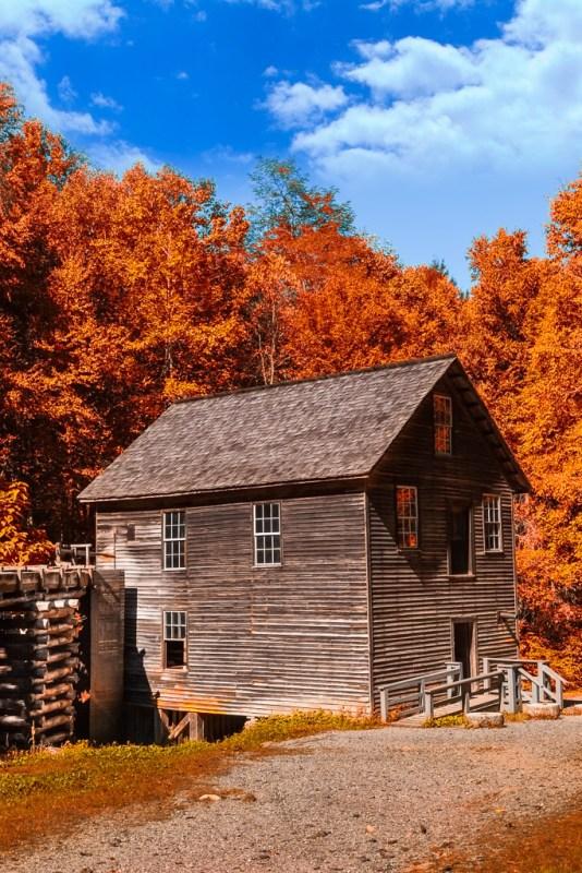 10196. Mingus Mill, Great Smoky Mountains National Park, North Carolina