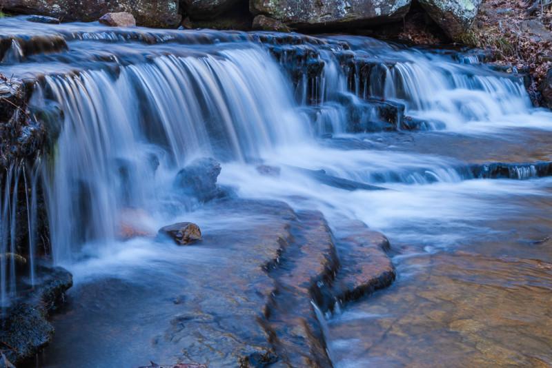 Waterfall on Collins Creek, Heber Springs, Arkansas