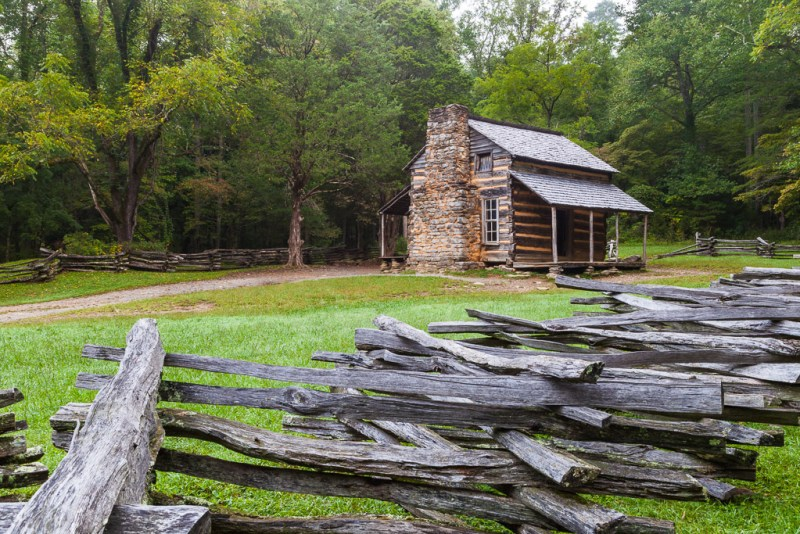 10188. John Oliver Cabin, Cades Cove, Tennessee