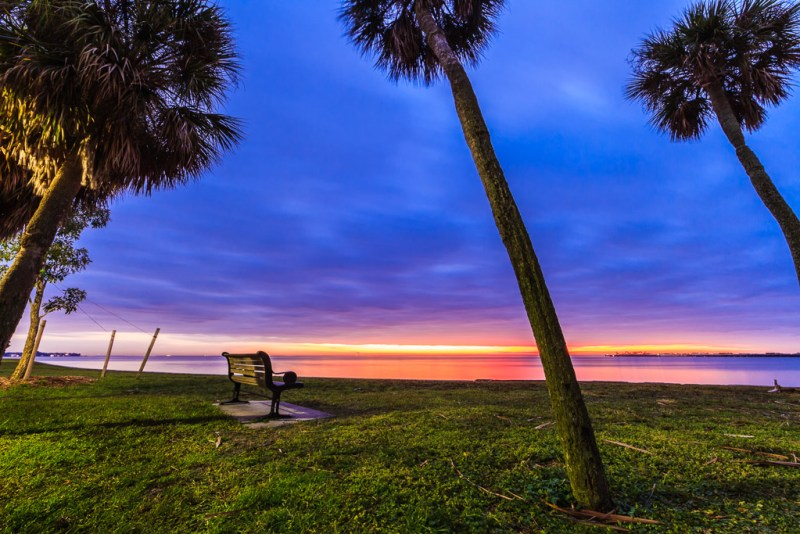 10498. Sunrise over Tampa Bay, Florida