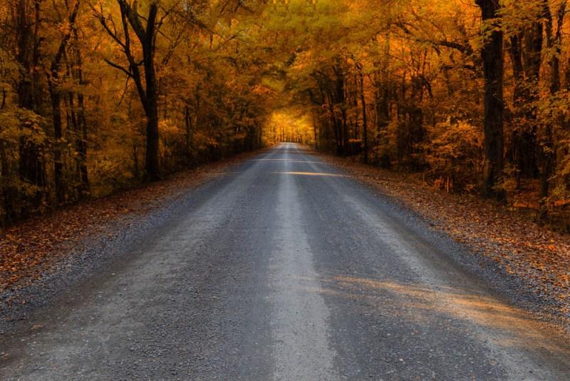 Country road, Arkansas