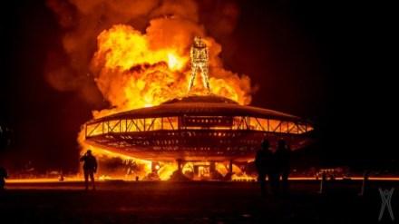Burning Man - Rabatt på bobil i USA