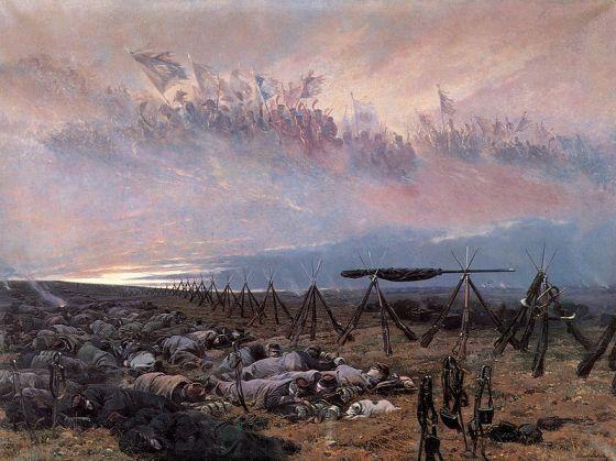 """Édouard Detaille, """"Le rêve"""" (1888)"""