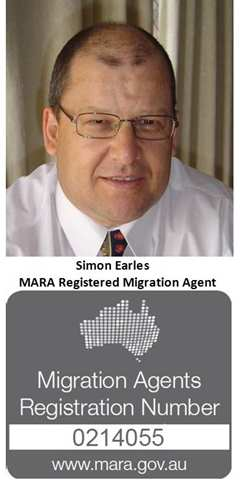 Simon Earles MARA Agent