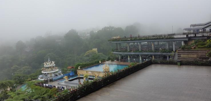 Pemandangan Alam di sekitar Villa Seruni Pangrango Cisarua Bogor yang asri.