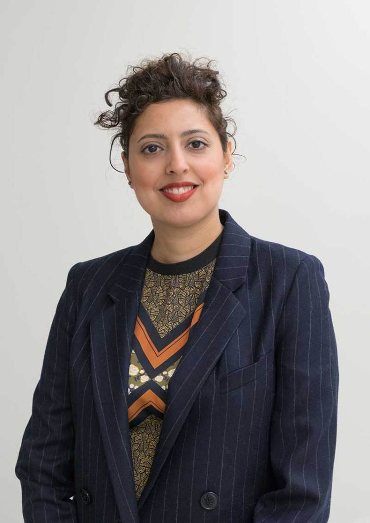 Sara Raza, Guggenheim UBS MAP Curator, Middle East and North Africa Photograph by David Heald © Solomon R. Guggenheim Foundation, New York