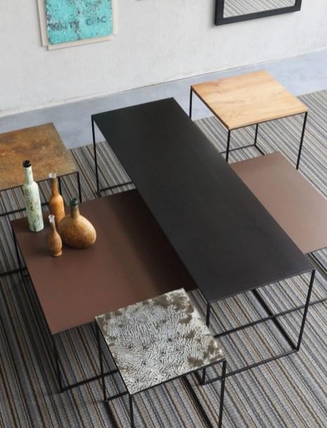 Slim Irony Low Table - Finiture