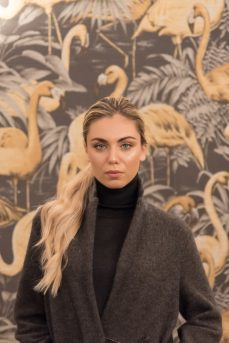 Ph. Rossana Viola per Fabiana Filippi Stockholm collezione AI 2018/19 c/o Hotel Salute Palace - Venice Fashion Week