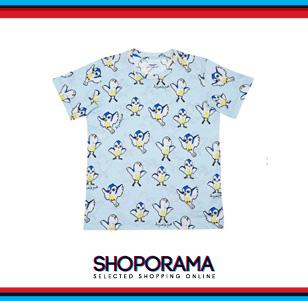 T-shirt in cotone stampata, Au Jour Le Jour fun fashion shoporama.it bobos.it