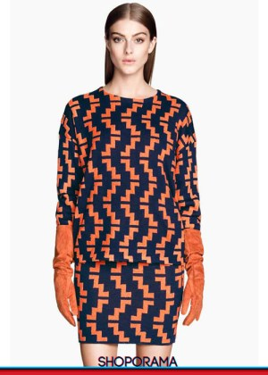 H&M,tricot,jaquard,coordinato,shoporama.it, shopping,eshop,