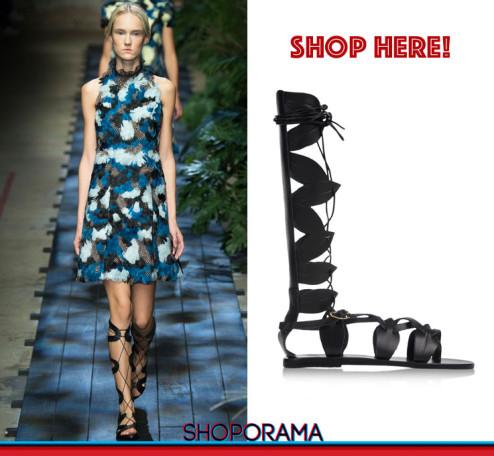 Erdem SS2015, Ancient Greek Sandals,gladiators,sandali,shoes,shoporama,shopping,