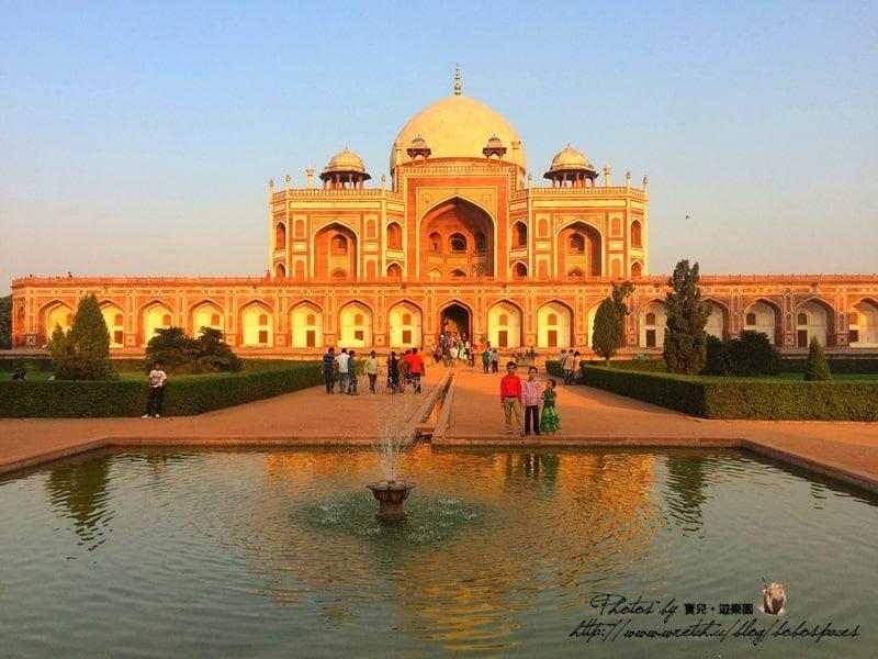 【2015 印度】Day3-3 新德里。胡馬雍陵的美麗故事。