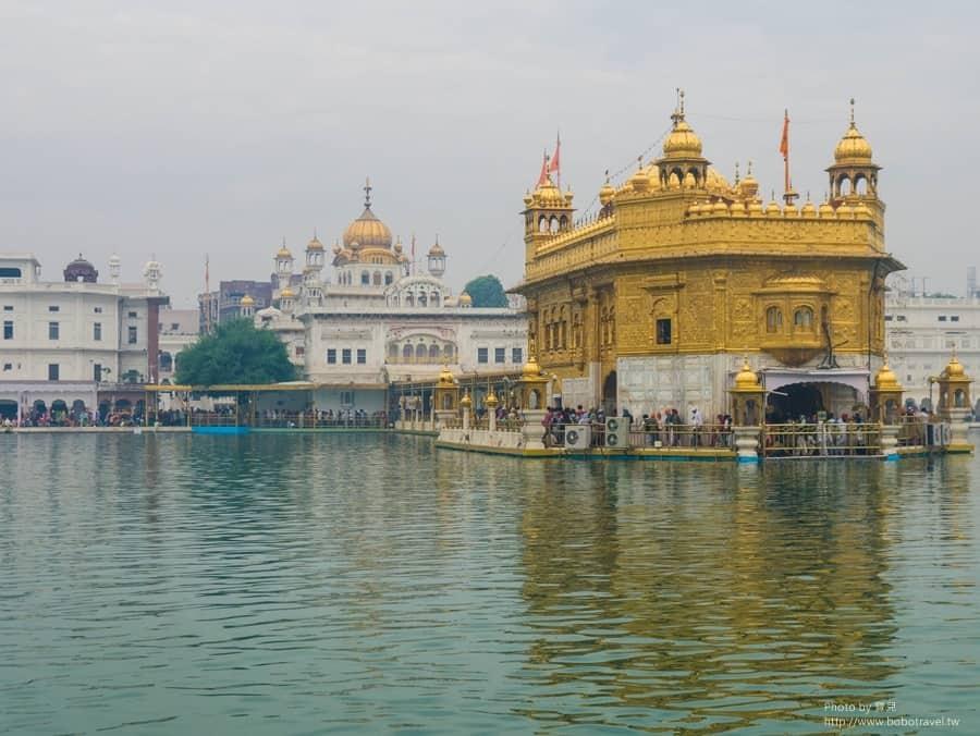 【印度。旁遮普邦】Day27-1阿姆利澤Amritsar。我們不是恐怖分子!走進750公斤黃金堆砌的金廟,揭開錫克教的神秘面紗。