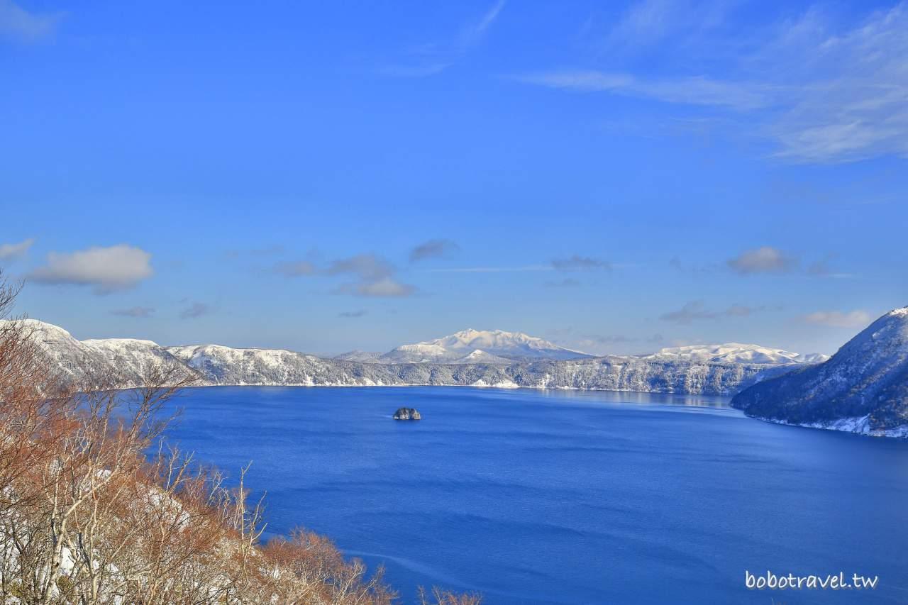 北海道・道東|摩周湖。懾人心弦的澄淨藍寶石,宛若仙境的冬季絕美景色
