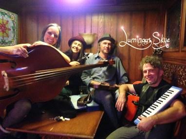 Luminous Skye (l to r) Bekah Zachritz, Kelly Holmes, Warren Meier and Bob Paltrow