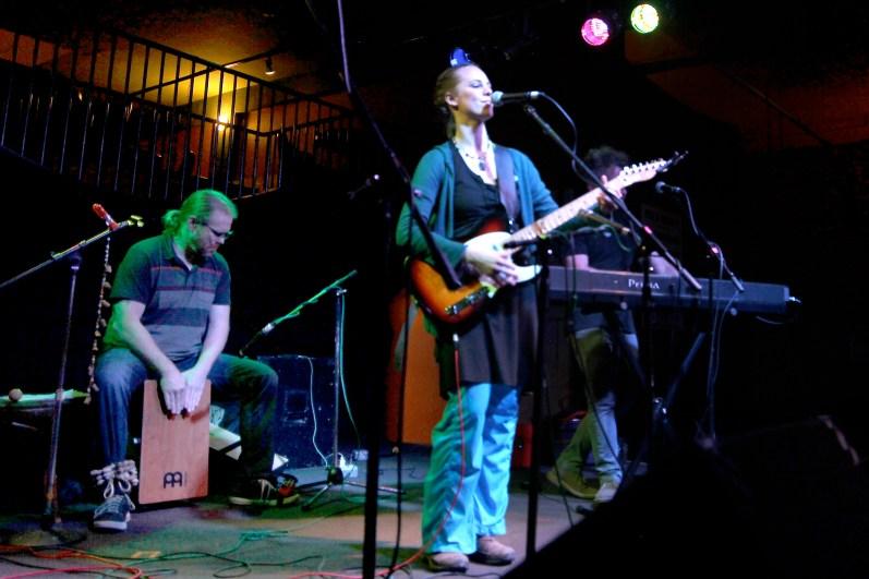 WuHu @Wild Buffalo House of Music 2.16.15 with Joe Marx o Percussion