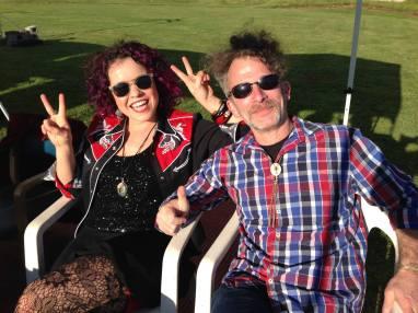 Ruby Flambé - Bob Paltrow and Bailey Anne Martinet. Cinco de Mayo, Grovestock Ranchn 2015