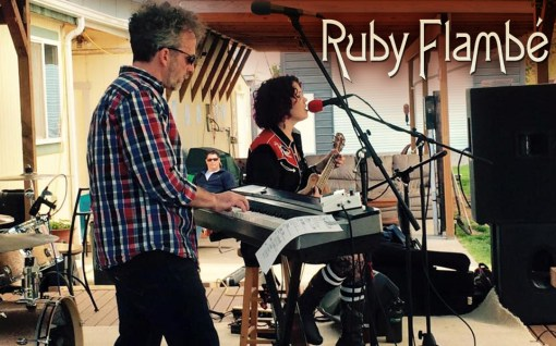 Ruby Flambé Bailey Anne Martinet + Bob Bob Paltrow Music Web Slide Banner 2
