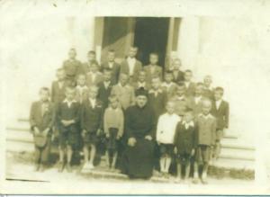 Ministranci - zdjęcie z 1951 roku