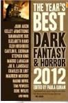 best dark fantasy and horror 2012