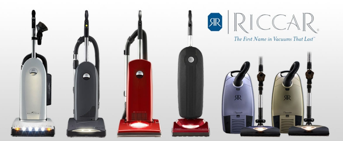 RICCAR Upright and Canister Vacuums